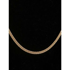Harlembling 14k Gold  Silver Cuban Curb Chain